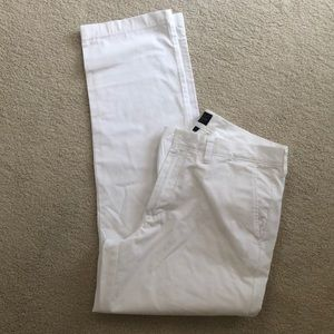 NEW J. Crew white pants 33 x 34